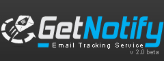 GetNotify - Free Email Tracking and Email Marketing Service